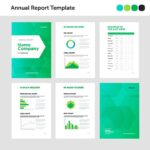 Report Template Illustrator