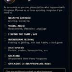 Report Template League Of Legends