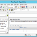 Report Template Microstrategy