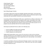 Report Letter Template